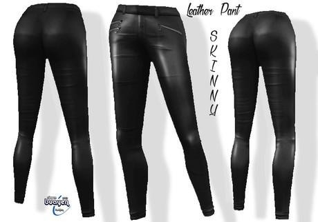 Thaib Skinny Leather Pant  Maitreya Slink Belleza & 5 Sizes Classic Fitmesh Sizes