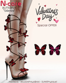 """N-core BUTTERFLY """"Valentine"""" (Special OFFER)"""