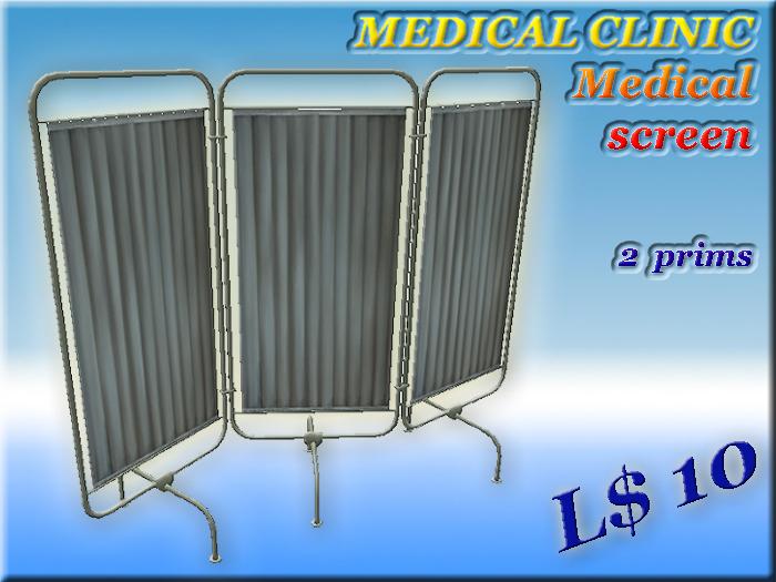MEDICAL CLINIC Medical screen (2 prim) (Full perm)