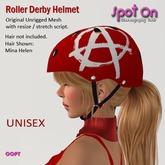 Spot On Roller Derby Helmet - Anarchy