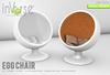 inVerse® MESH - Egg chair full permission