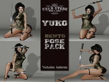 Quar store - Yuko pose pack (Wear me)