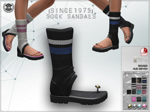 [Since1975]-Sock sandals & HUD