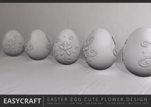 EasyCraft - Easter Egg Flower Decor Kit