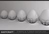 EasyCraft - Easter Egg Ribbon & Flower Decor kit