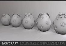 EasyCraft - Easter Egg Spring Flower Decor Kit