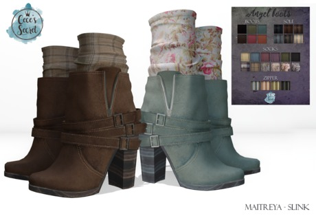 Cece's Secret Angel Boots - Earthtones