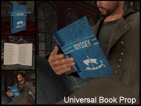 Universal Book Prop - Homer - The Odyssey
