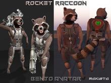 Rocket Raccoon Bento
