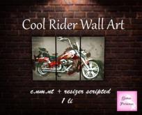 {.Gross Princess.} Cool Rider Wall Art
