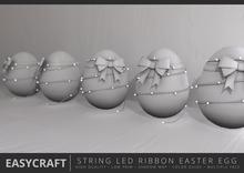 EasyCraft - Easter Egg with LED String Light Decor Kit
