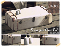 Kensington Chest Table ♥ CHEZ MOI