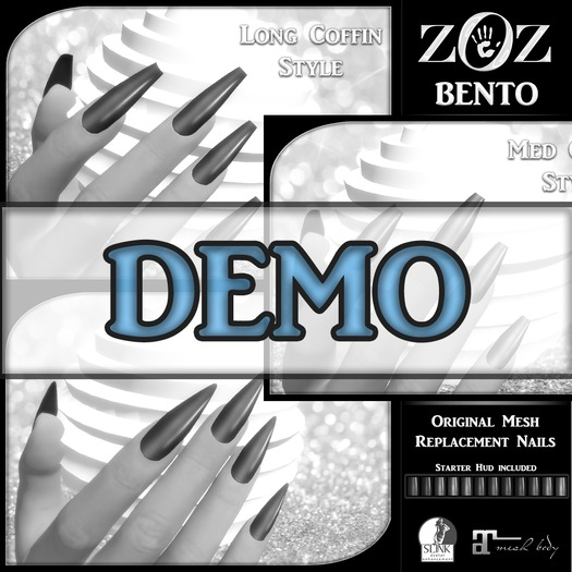 {ZOZ} BENTO Nails Demo