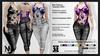 Chloe ADDON Tye Dye Halter & High-waist Jeans Clothing Templates Set - Full Permissions