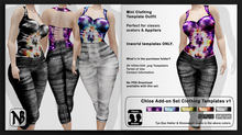 Chloe ADDON Clothing Templates Set