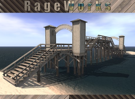 SilverBell Pier - Modular Step Add On - (RageWorks)