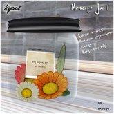 Kyoot Home - Memento Jar I