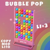 Play the Bubble Pop Game (LI=3)