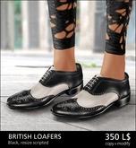 [*RG*] British Loafers -Black- *REDGRAVE*