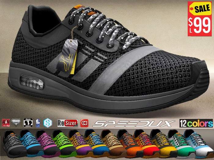 CA PROMO SAVE 75% AESTHETIC SLINK SIGNATURE SPEEDUX SPORT SHOES
