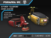 """PsiNanna, Inc. Automin Hover Scooter """"Calabrone"""""""