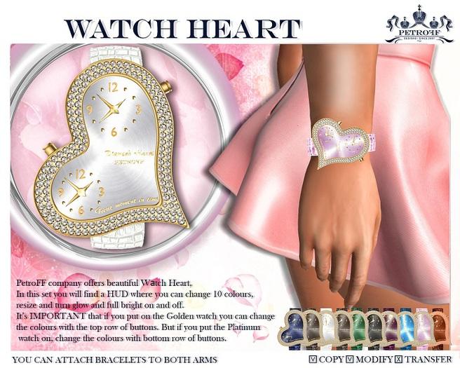 *PetroFF* Watch Heart