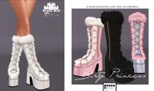 *DP*- Snow Monster Princess Boots w/Hud ADD ME