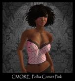 CMORE - Polka Corset Pink