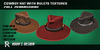 CowBoy Hat With Bulets Textures Full Perm