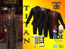 *TM* Titan Dalvin Brown Suit