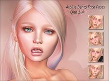 Atblue. Bento Face Poses - Ohh 1-4 (Catwa Lelutka)