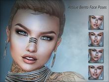 Atblue. Bento Face Poses - Smile 1-4