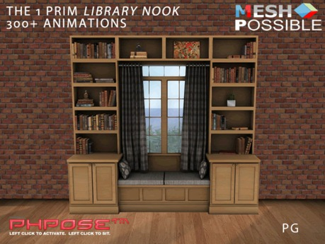 1 Prim Library Nook PG