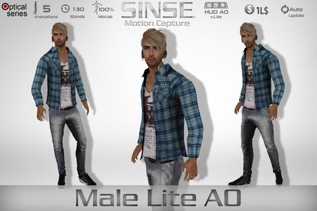 [SINSE] Male Lite AO Motion Capture Optical Series