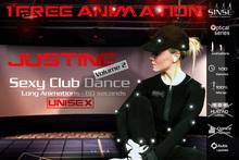 [SINSE] Justine 1 FREE Animation Dance Volume 2 - Sexy Club Dance Unisex - Motion Capture Optical Series