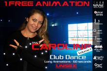 [SINSE] Caroline 1 FREE Animation Dance Volume 1 - Club Dance Unisex - Motion Capture Optical Series