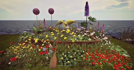 CJ Colors of Life Garden Boat Spring c+m