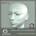 *6DOO* bento Human mesh head EKASI-01