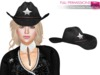 %50WINTERSALE Full Perm Mesh Female Sheriff Hat