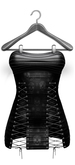 *V2V GOTH GIRL LACE UP DRESS (MAITREYA)