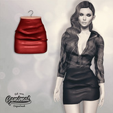 [Canimal] Hayden Skirt Red