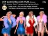 Onp ladies boa with hud