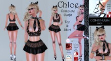 Continuum Chloe Black Complete Outfit