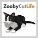 Zooby Cat Life Black & White Cat Avatar BOXED