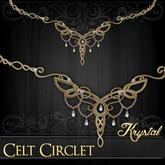::: Krystal ::: Celt Circlet - Gold