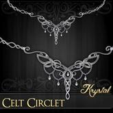 ::: Krystal ::: Celt Circlet - Silver