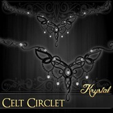 ::: Krystal ::: Celt Circlet - Wrought Iron
