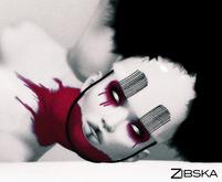 Zibska ~ Lert neck tattoo in 3 colors in 3 transparencies and eyemakeup in 3 colors in 2 variations