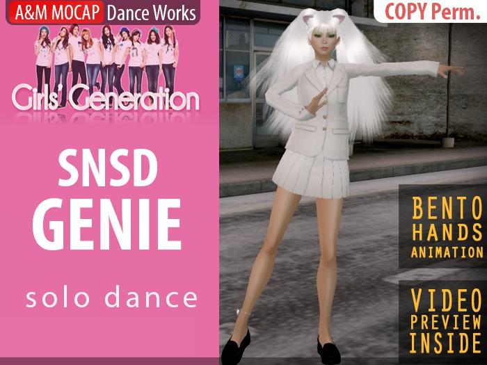 A&M: SNSD Genie - K-Pop solo dance (BENTO hands) :: Girls' Generation dance reconstruction