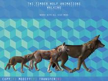 [RSC] Universal Wolf Walk Animation